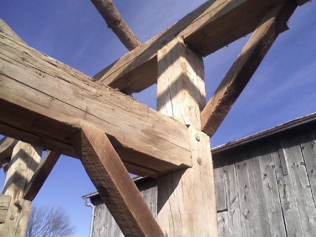 Barn Frames For Sale - Circle Rock Inc  Reclaimed Wood